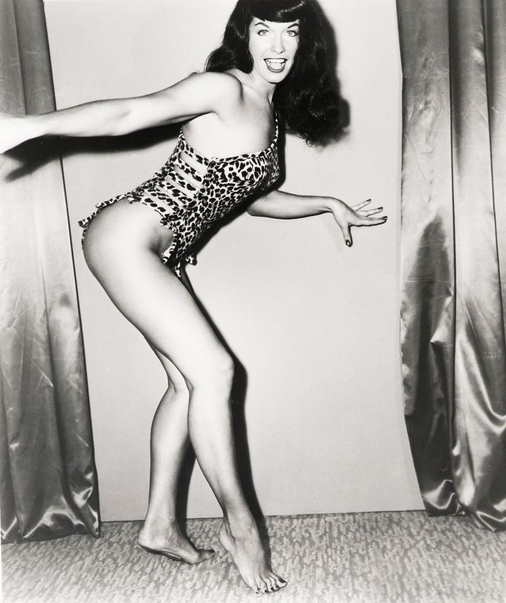 Bettie Page, of course