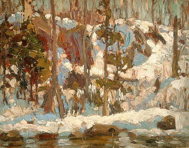 A.Y. Jackson, 1914; Algonquin Spring, National Gallery of Art Canada