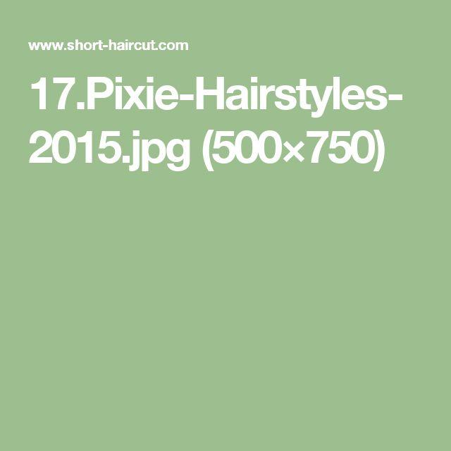 17.Pixie-Hairstyles-2015.jpg (500×750)