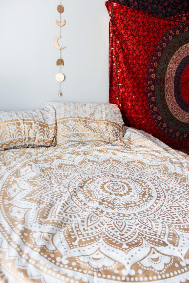 Lady Scorpio Mandala Duvet Covers