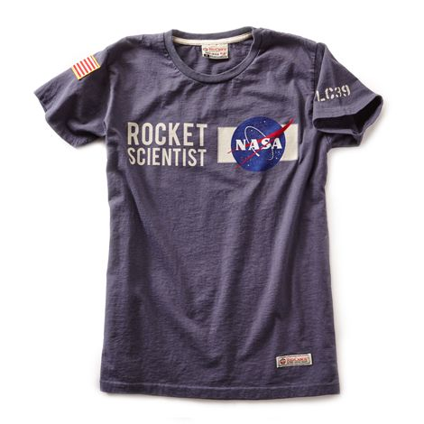 tbh I would only wear it if I was actually a rocket scientist, I would feel embarrassed if not [Women NASA T-Shirt]