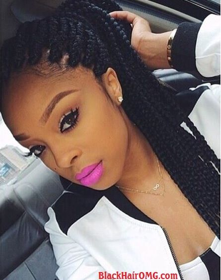 Best African hair braiding pictures & ideas for black women hairstyles. Also learn how to braid hair with a great braiding hair tutorial video for natural and...