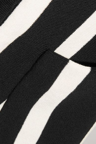 Black and white cotton Slips on 100% cotton Dry clean Made in Italy