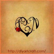 Cn ladybug heart tattoo tattoo ideas pinterest for Ladybug heart tattoos