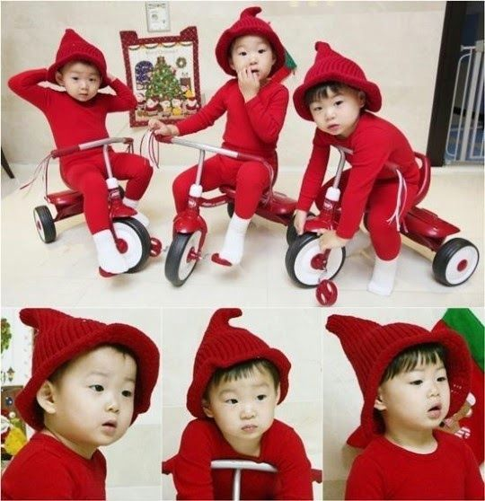 red triplets