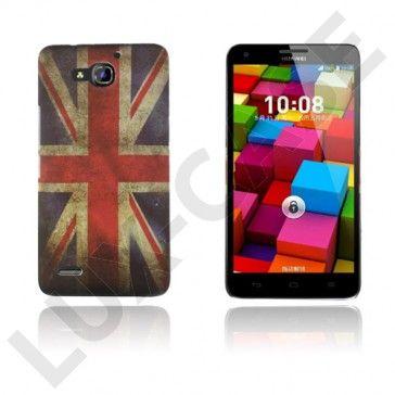 Persson Huawei Ascend G750 Kova Suojakuori – Britannian Lippu