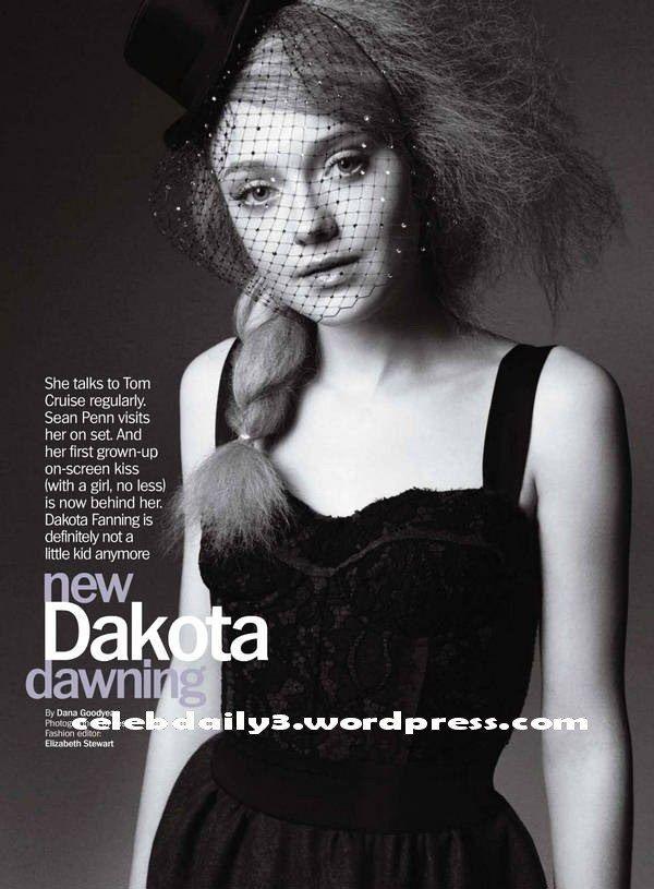 DAKOTA FANNING MARIE CLAIRE PHOTOS | Dakota-Fanning-Marie-Claire-US-August-3