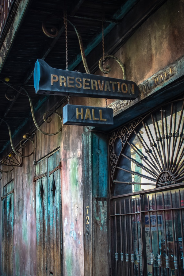 Preservation Hall by Rocco Biscieglia, via 500px