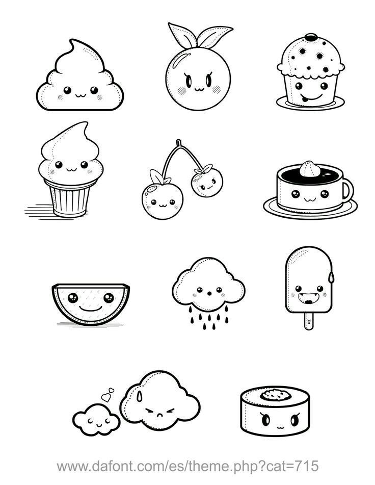 Cute Doodles Kawaii Drawings