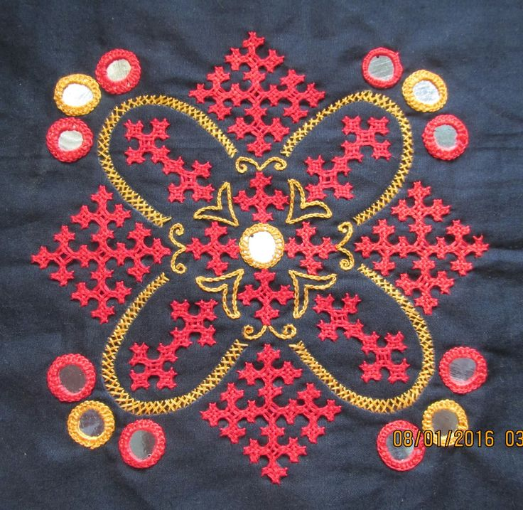 Images about kasuti kutch work on pinterest