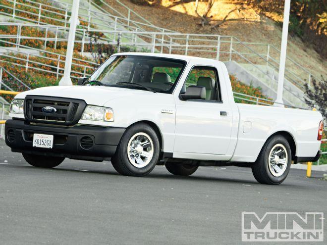 2009 Ford Ranger lowered