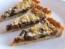 Chocolate-Peanut Butter Tart Recipe - Czekoladowo-Orzechowe Masło Tarta
