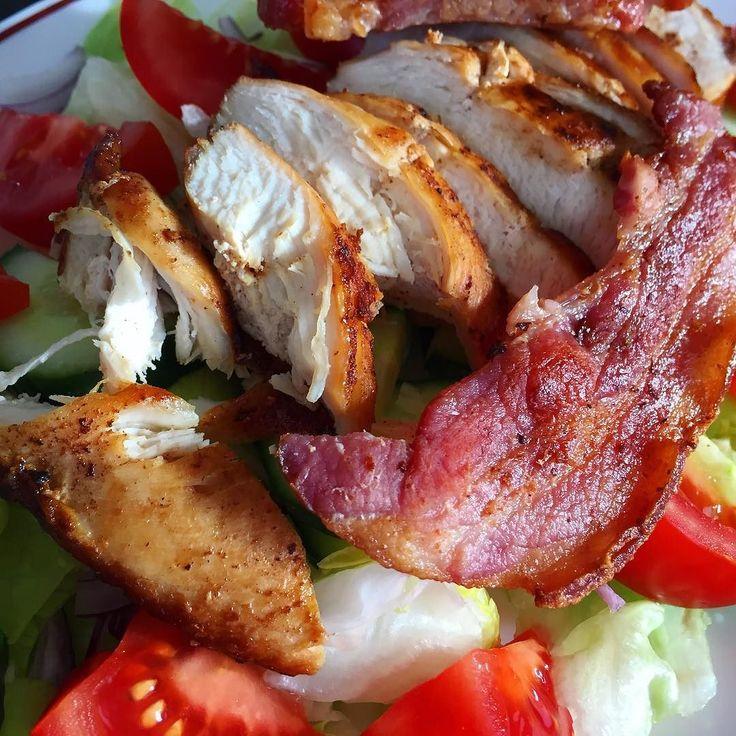 #chicken club salad  #weightloss #paleo #healthy #weightlossjourney #fitness #keto #ketosis #lchf #paleodiet #paleolifestyle #foodporn #diet #eatclean #healthyfood #paleofood #paleolife #healthyeating #weightlossmotivation #glutenfree #foodie #healthyliving #fit #instafood #food #realfood #healthylife #healthychoices #summerbody #instagood