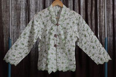 Kebaya in cotton