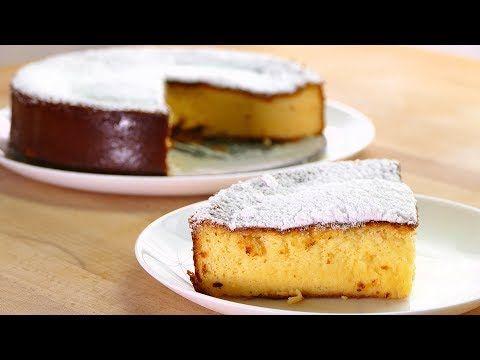Tarta de queso japonesa 3 INGREDIENTES - Postres faciles rapidos y economicos - YouTube
