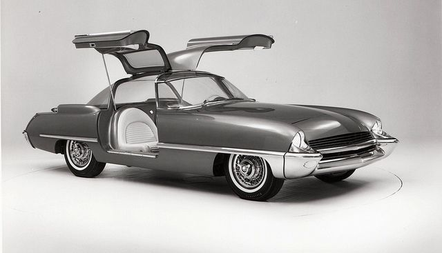 1962 Ford Cougar 406 Concept Car by aldenjewell, via Flickr