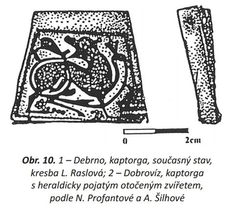 Kaptorgas found in Debrno (1) and Dobrovíz (2), Czech Republic. | Culture: Slavic (West Slavs - Great Moravian Empire). | Timeline: between 6th - 10th centuries. | Kaptorga was a small container for amulets and/or sacred herbs, worn around the neck.