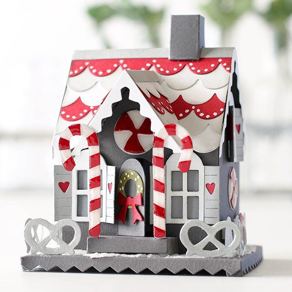 Tim Holtz Gingerbread House Die with Shari Carroll | Simon Says Stamp Blog! | Bloglovin'