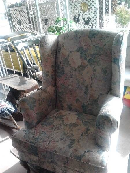 Parlor wing chair - Castanet Classifieds
