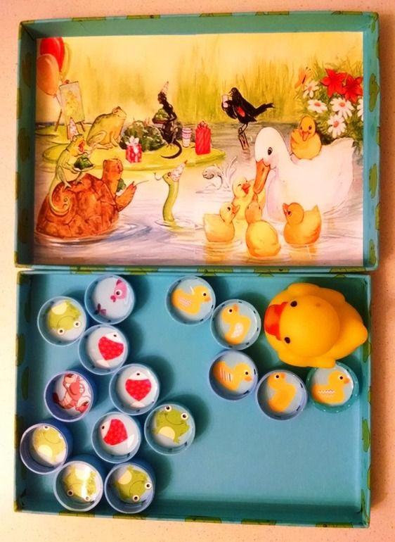 Игра Five little ducks (Скачать) - Настольные игры - Babyblog.ru