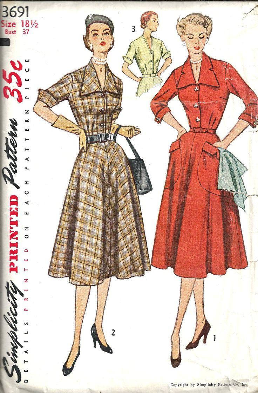 2247 best Sewing Patterns images on Pinterest | Vintage dresses ...