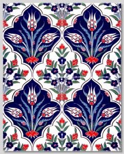 """BORDER Tile Collections by """"Home of Iznik"""" Gorgeous tiles for flooring, backsplash, wall accent, countertops, powder room, bathroom, etc."""