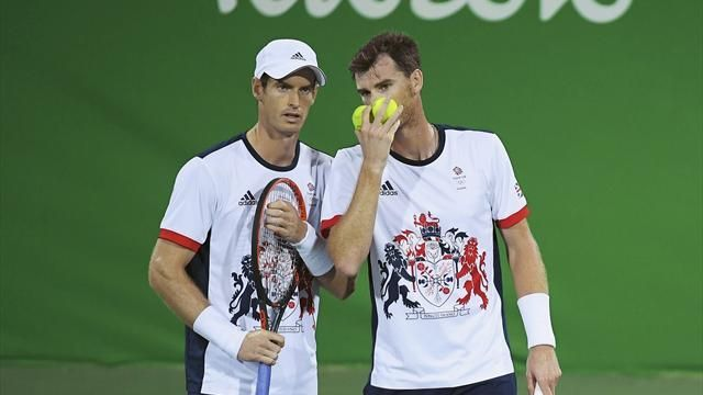 Rio 2016 Olympics: Andy and Jamie Murray suffer shock first-round defeat to Brazil duo - Rio 2016 - Tennis - Eurosport