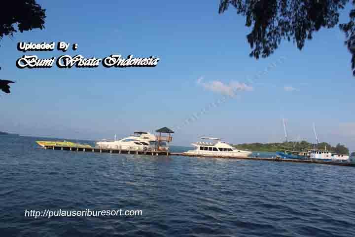 Dermaga Pulau Putri Kepulauan Seribu