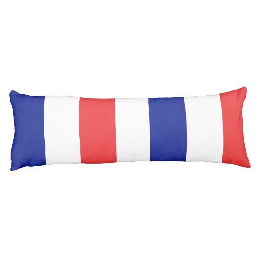 France flag body pillow