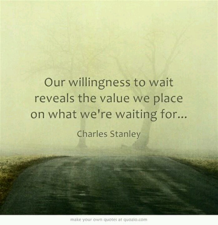 Wait On Love Quotes: Waiting Quotes For Love