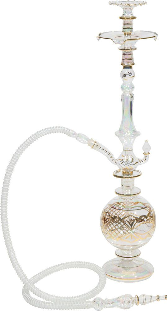 All glass hookah