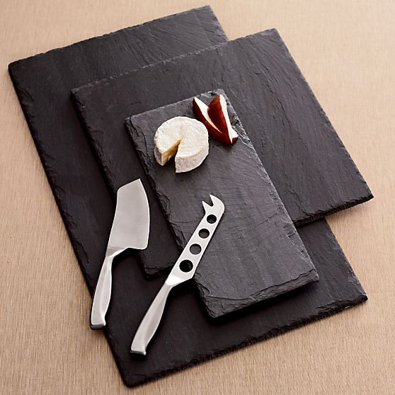 Rectangle Slate Boards | Crate and Barrel