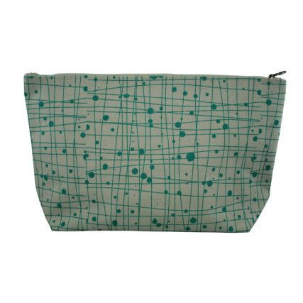 Cosmetic Bag Green   Urban Nest Design