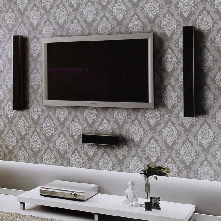 Black Wallpaper Black And Silver Wallpaper Designs