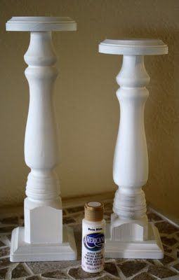 25 unique wood candle holders ideas on pinterest diy for Wooden candlesticks for crafts