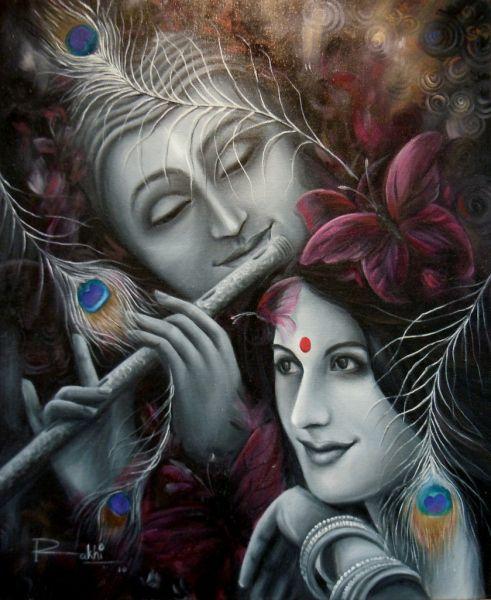 KrishnaPyari20x24OilOnCanvas.JPG (491×600)