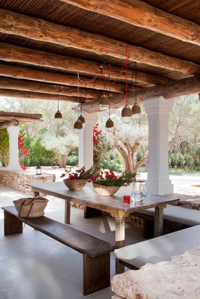Une maison ancienne en pierres à la décoration contemporaine à Formentera (avec images ...