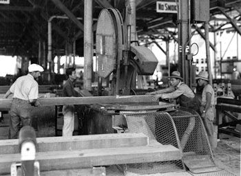 Factory | Old Woodworking Photos | Pinterest | Band Saws, Factories ...