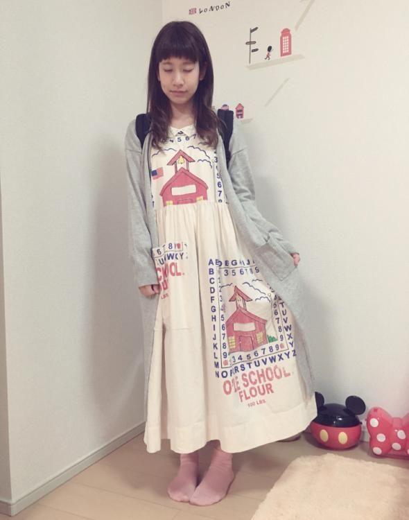 個性的な柄ワンピと合わせて♪おしゃれなしまめるコーデ♡ファッション・スタイルのアイデア☆