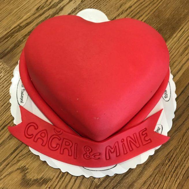 Kalp Tasarım Pasta • 1 Dakikada Sipariş Ver! • Bulvar Pastanesi    #pasta #cake #butikpasta