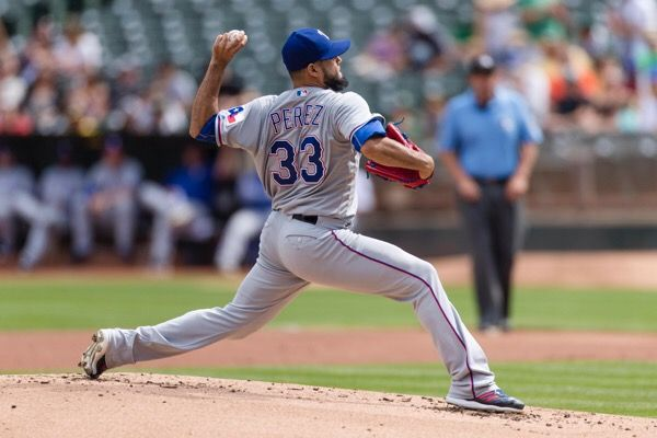 Infirmary Report: Martin Perez-Will he be healthy following elbow surgery?