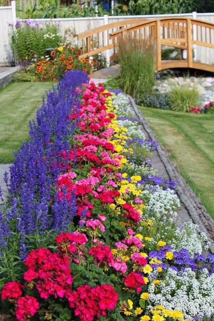 29 Flower Bed Ideas In Front Of House 4 Summer Flowers Garden