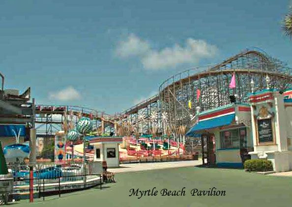 Myrtle Beach Pavilion The Palmetto State Pinterest And Vacation