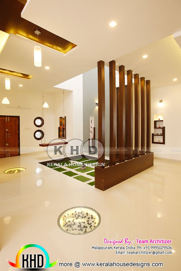 Kerala Home And Interiors By Team Architizer Home Stairs Design