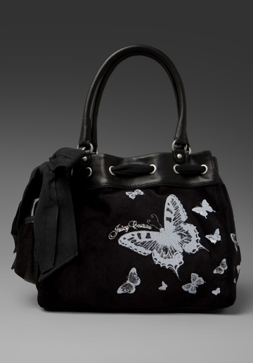 Juicy Couture Butterfly Velour Day Dreamer Bag from Revolve Clothing