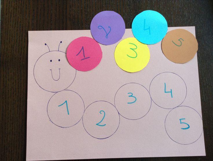 Activité enfant apprendre à compter et reconnaître les chiffres