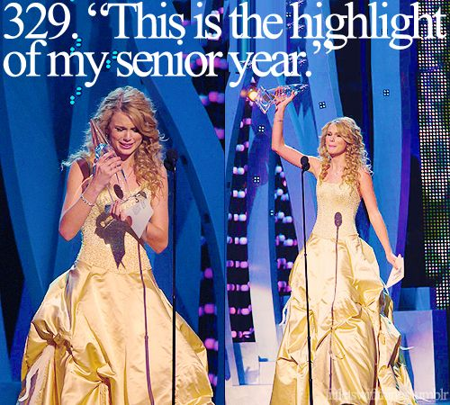 """""""this is the highlight of my senior year!"""" #TaylorSwift"""