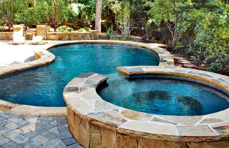Free Form Pool Ideas in 2020 Small backyard pools