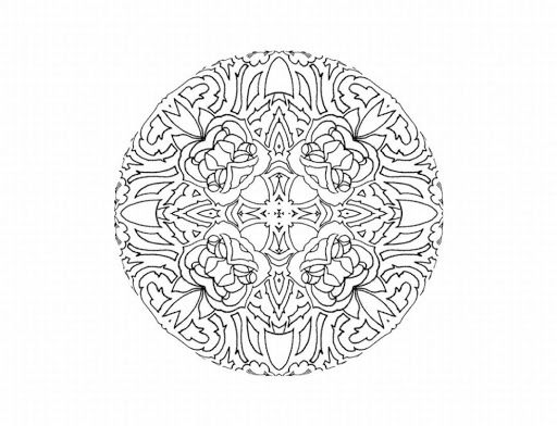 Very Detailed Coloring Pages On Images Free Download For: 17 Best Images About Mandala Coloring Pages On Pinterest