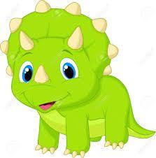 imagenes de dibujo de dinosaurio tres cuernos
